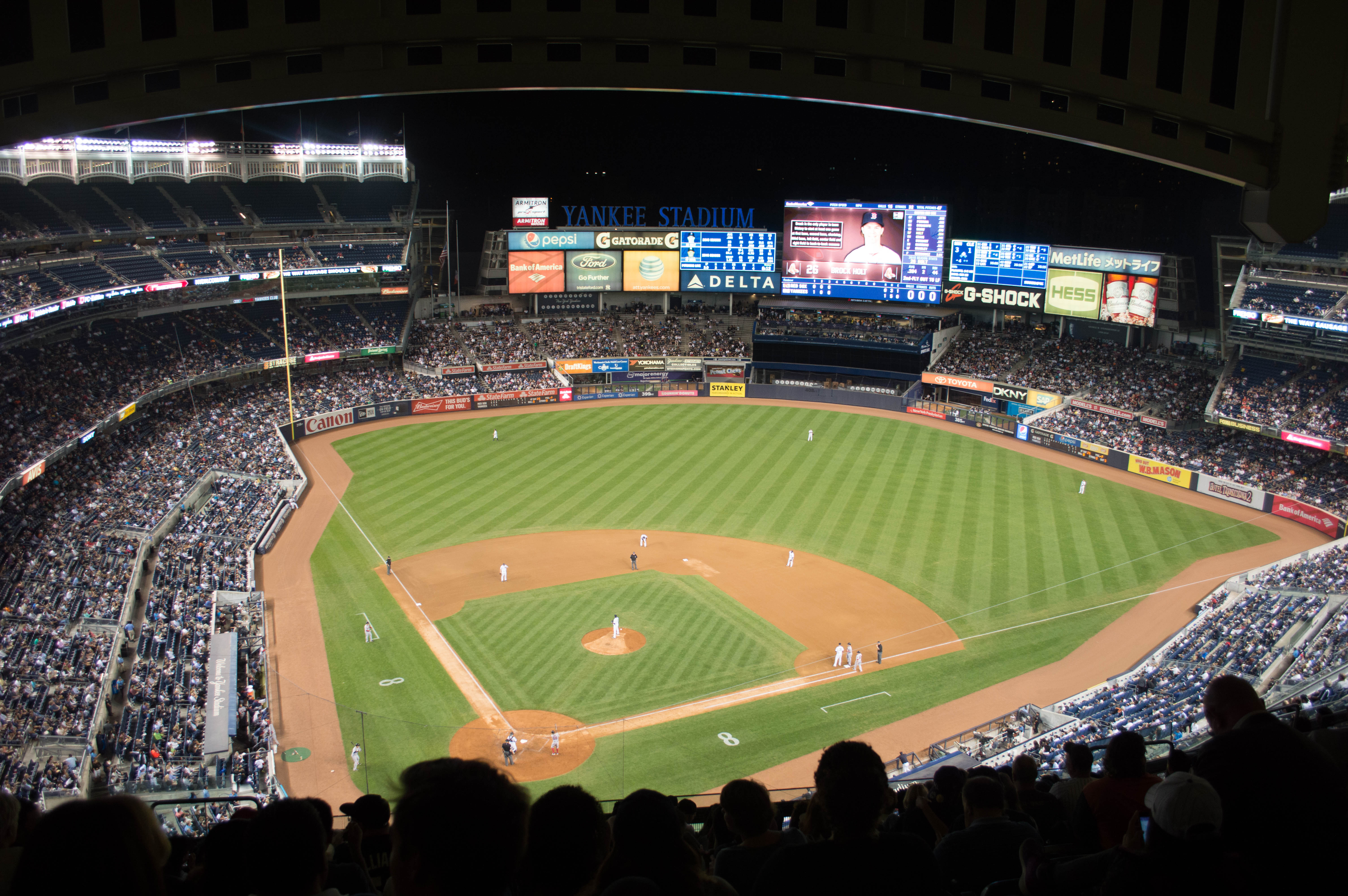 See A Baseball Game In New York Yankees Vs Red Sox At